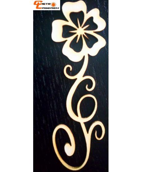 Skrapki ornament kwiatowy 1