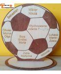 Pamiątkowa piłka, podziękowanie dla wyjątkowej osoby, kolegi, ...
